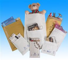 Виды применения пакетов с воздушной подушкой Mail lite