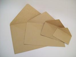 Виды крафт конвертов